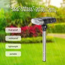 2PCS 3LED Verstellbar Solarleuchten Scheinwerfer Außen Garten Landschaft Licht