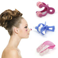 3Pcs Nose Up Clipper Shaping Beauty Clip Bridge Lifting Shaper Straightening Set