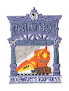 Harry Potter Collections : Hogwarts Express Kings Croix Plateforme 9 ¾ Patch
