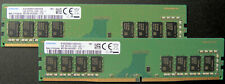 Samsung DDR4 2666MHz RAM (8GB each -2 pack) M378A1K43DB2-CTD UDIMM Memory