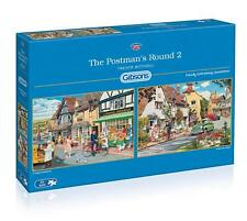 Gibsons The Postman's Round 2 Jigsaw Puzzle (2x500 Pieces) G5030 Trevor Mitchell