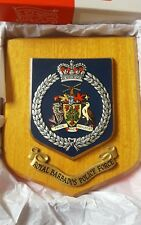 Royal Barbados Police Force  wall plaque shield Boxed