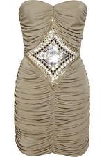 "SASS & BIDE   ""Take It Easy""   Embellished Strapless Dress  Size 8"
