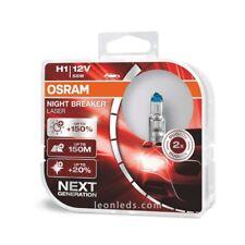 2 X Bombillas Night Breaker Laser +150% H1 H4 H7 Mas potentes Luz mas Blanca