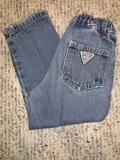 Baby Guess USA Size 3T Vintage 1980s Original Blue Jeans Kids Toddler 3Y