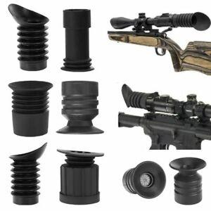 Hunting Riflescope Rubber Eyeshade Scalability Sight Eye Guard Tactical Optics