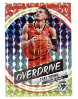 2019-20 Panini Mosaic Trae Young Overdrive Prizm