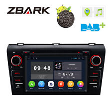 """7"""" Android 8.1 Car DVD Player Radio GPS Auto Stereo WiFi For Mazda 3 2004-2009"""