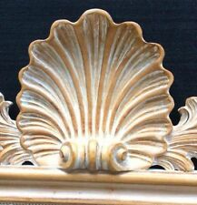 """Labarge La Barge Italian Mirror Concave Shell 25"""" W x 48"""" H"""