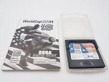 JUEGO WORLD CUP USA 94 + FUNDA+ INSTRUCCIONES SEGA GAME GEAR.COMBINO ENVÍOS