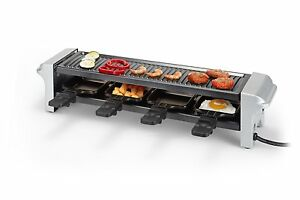 Tristar Raclette Grill Plate With Anti-stick Coating Tabletop Grill Party Grill