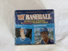 1987 Fleer Baseball Update Glossy Tin Box Complete Set Updated Traded Sealed NEW
