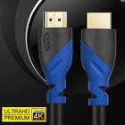PREMIUM HDMI CABLE 2.0 4K 18Gbps 2160p 3D LEAD 0.5M 1M 2M 3M 4M 5M 7M 8M 10M 15M