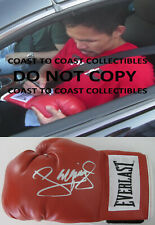 Manny Pacquiao, Pacman, signed autographed boxing glove, COA with exact proof