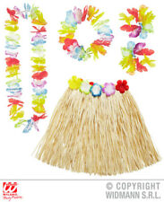 Multicolour Hawaiin Set Tropical Hawaii Beach Party Fancy Dress Accessory