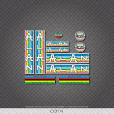 0314 Alan Bicycle Stickers - Decals - Transfers