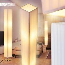 weiße Design Stoff Boden Steh Leuchte Lampe Wohn Schlaf Kinder Zimmer 120cm