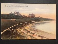 Antique POSTCARD c1907-15 Chappequoit Island WEST FALMOUTH, MA (20568)