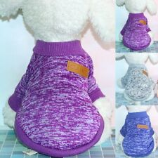 New Pet Dog Warm Jumper Sweater Clothes Puppy Cat Knitwear Knitted Coat Winter