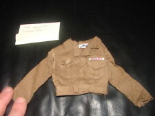 GI JOE Action Soldier Ike Jacket MP vintge  original 60's     1113