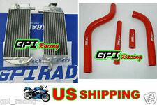 GPI aluminum RADIATOR + hose for Yamaha YZ125 YZ 125 02-04 03 2002 2003 2004