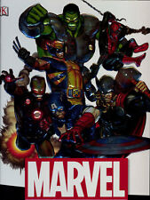 MARVEL: YEAR BY YEAR A VISUAL CHRONICLE HARDCOVER Comics Charactor Guide DK HC