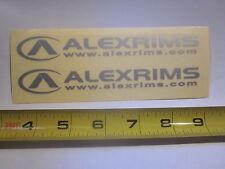 "2 6"" ALEX A-CLASS RIM BIKE BICYCLE FRAME STICKER DECAL"
