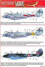 Kits World Decals 1/72 GLOSTER METEOR F.4 British Jet Fighter