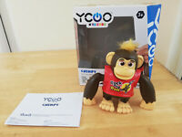 Chimpy Robot. Touch & Dance Monkey Robot with Moving Lips YCOO Kids Toy