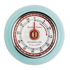 (tg. Confezione da 1) Eddingtons Timer magnetico in Stile Retro colore Azzurro