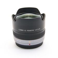 Panasonic LUMIX G FISHEYE 8mm F/3.5 -Near Mint- #528