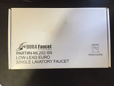 Dura-Faucet-DF-N-ML202-SN Single-Lever-RV-Lavatory-Faucet-Replacement-RV