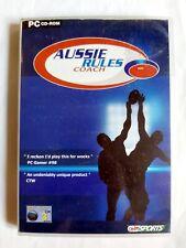 Aussie Rules Coach-PC Fußball Sport Spiel (akaei, 2001)