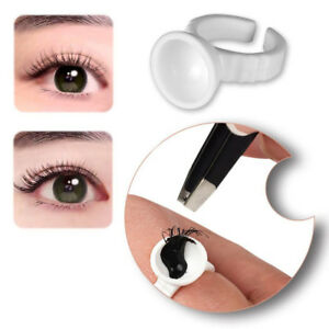 Microblading Pigment Rings Tattoo Ink Cups Holder For Permanent Makeup Supplies