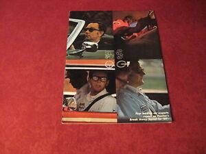 1969 Pontiac Performance Sales Brochure Original Old Booklet Book Catalog