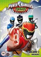 Power Rangers - Dino Charge - Volume 3 - Breakout DVD Nuovo DVD (MANG5830)