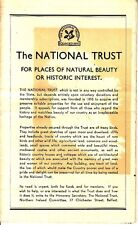The National Trust Natural Beauty Historic Ulster Northern Ireland Brochure