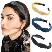 Women's Bright Braid Headband Twist Hairband Hair Band Hoop Accessories Party