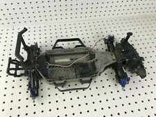 TRAXXAS 1/10 Rally 4x4 RC Rolling Chassis w Upgrades NEEDS Everything Else READ!