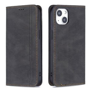 For iPhone11 12 13 Wallet Purse Card Holder RFID Blocking Shockproof Case Cover
