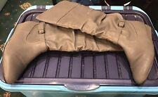 Womens Grey Wedge Below Knee Boots Size 4