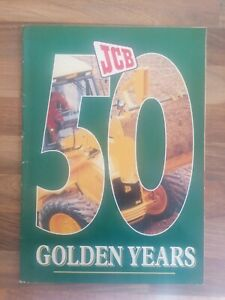 JCB 50 Golden Years Brochure Magazine Suppliment