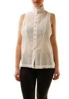 One Teaspoon Damen Mayfield Shirt Weiß Größe S UVP 116 € BCF71