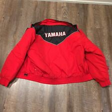 Yamaha Sportswear Snowmobile Riding Winter Jacket Coat Men's Size Large 🔥
