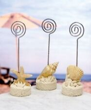 24 Beach Shell Place Card Holder Wedding Shower Bridal Shower Party Favors