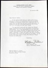General William Dean M.O.H Korean War Commander Signed 6th Army Letter 1955