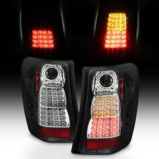 Black 1999-2004 Jeep Grand Cherokee Perform LED Tail Lights Brake Lamps 99-04