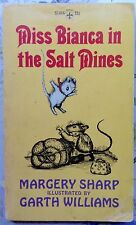 Miss Bianca in the Salt Mines by Margery Sharp c1966 Acceptable PAPERBACK