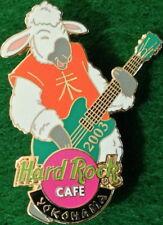 Hard Rock Cafe YOKOHAMA 2003 YEAR of the SHEEP PIN Guitar Player - HRC #16105