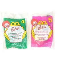 Barbie McDonalds Happy Meal Toys lot of 2 Vintage 1996 Sealed